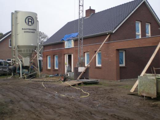 Sneldrogende cementdekvloer woning